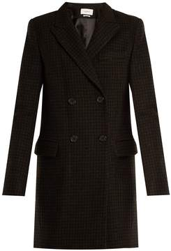 Etoile Isabel Marant Iken double-breasted hound's-tooth coat