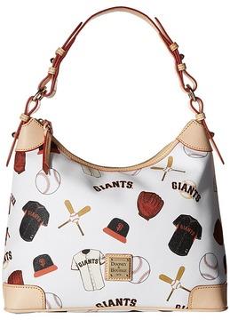Dooney & Bourke MLB Giants Large Hobo Hobo Handbags - GIANTS - STYLE