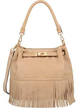 Mellow World Lorraine Fringe Bucket Bag (Women's)