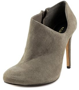 Sole Society Helena Round Toe Leather Bootie.