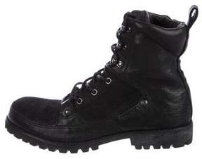 Diesel Savage Lace-Up Boots