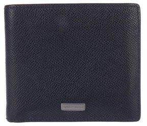 Giorgio Armani Grain Leather Wallet