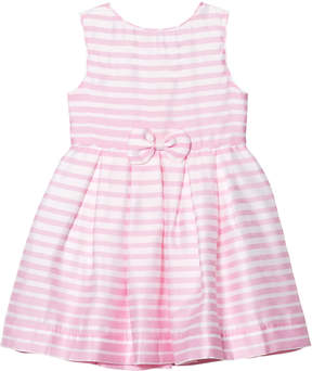 Rachel Riley Pink and Ivory Stripe Party Dress