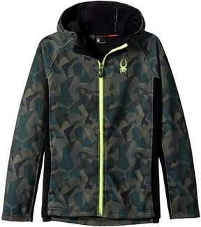 Spyder Constant Hoodie Stryke Jacket Boy's Coat