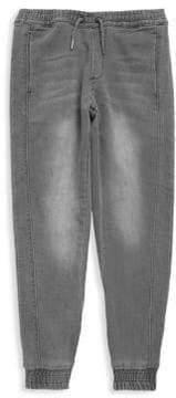 Joe's Jeans Little Boy's Knitted Denim Jogger Pants