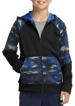 Hanes SPORT Boys' Tech Fleece Full Zip Hooded Jacket
