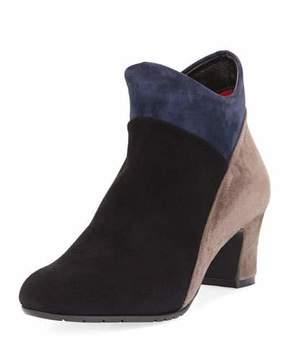 Sesto Meucci Mallia Colorblock Comfort Boot, Black