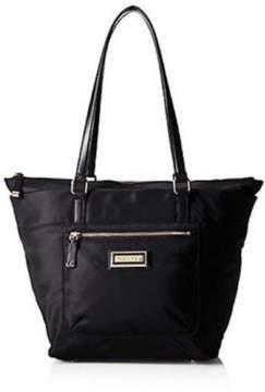 Calvin Klein Nylon Tote Shoulder Bag Black