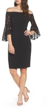 Chelsea28 Women's Off The Shoulder Lace Dress