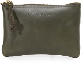 Filson Small Leather Pouch
