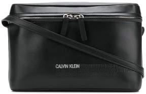 Calvin Klein embossed crpssbody bag