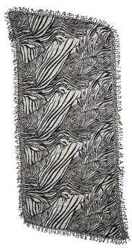 La Fiorentina Women's Animal Print Wool Scarf