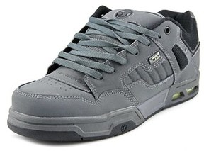 DVS Shoe Company Enduro Heir Men Round Toe Leather Gray Skate Shoe.