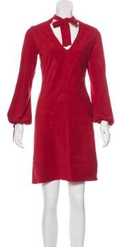 Laundry by Shelli Segal Textured Knee-Length Dress