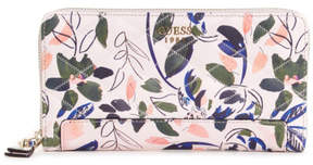 GUESS Penelope Floral Check Organizer