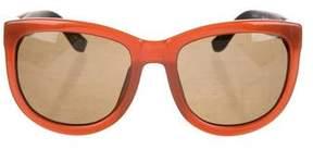 Linda Farrow The Row x Gradient Square Sunglasses