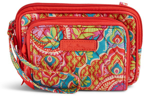 Vera Bradley Paisley in Paradise On the Square Wristlet - PAISLEY - STYLE