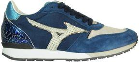 Mizuno Blue White Etamin Wos Sneakers