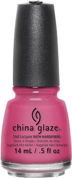 China Glaze Shocking Pink Nail Polish - .5 oz.