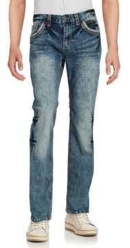 Affliction Washed Denim Pants