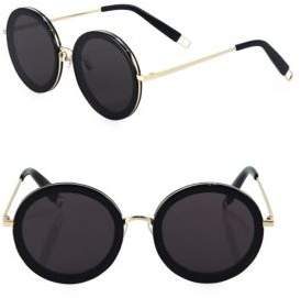 Gentle Monster The Whip 59MM Round Sunglasses