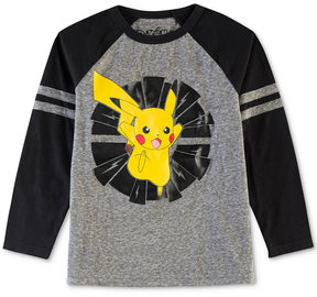 Pokemon Pikachu-Print Shirt, Toddler Boys (2T-5T)