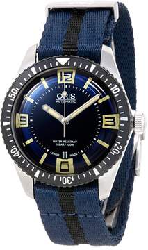 Oris Divers Blue Dial Automatic Men's Watch