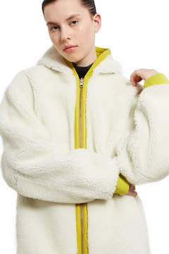 Opening Ceremony Shearling Hoodie