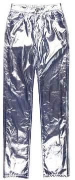 Fiorucci Yves Metallic Pants w/ Tags