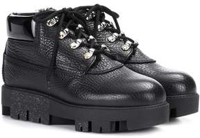 Acne Studios Tinne leather and shearling boots