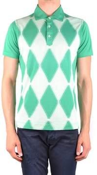 Ballantyne Men's Mcbi032075o Green Cotton Polo Shirt.
