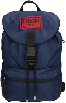 Givenchy Obsedia Blue Nylon Backpack