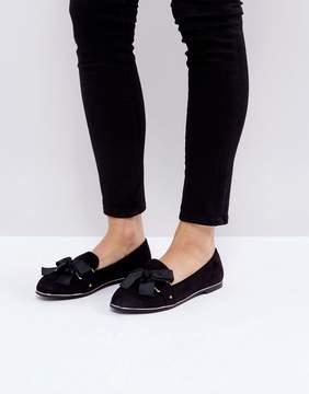 Miss KG Mable Metal Trim Ballet Flat Shoes