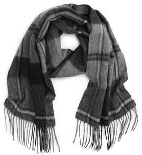 Barbour Men's Linton Plaid Wool & Cashmere Scarf