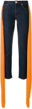 Emilio Pucci pleated panel jeans