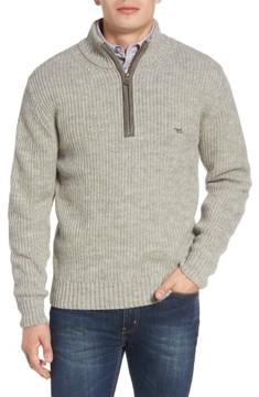 Rodd & Gunn Men's 'Huka Lodge' Merino Wool Blend Quarter Zip Sweater