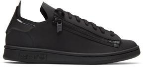 Y-3 Black Stan Zip Sneakers