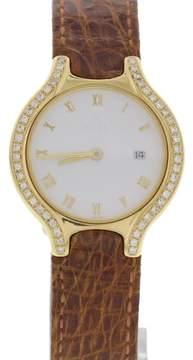 Ebel 2059 Beluga 18K Yellow Gold Watch