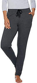 Cuddl Duds Comfortwear French Terry Slim Pants