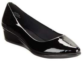 Easy Spirit Savery Patent Leather Wedge Pumps