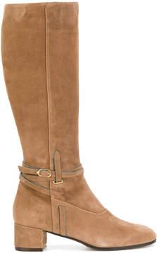 L'Autre Chose belted calf boots