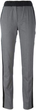 A.F.Vandevorst contrast stripe trousers