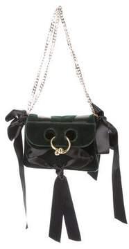 J.W.Anderson Mini Pierce Velvet Bag