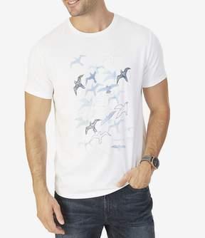 Nautica Watercolor Seagulls Short-Sleeve T-Shirt