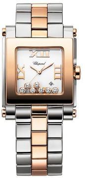 Chopard Happy Sport White Dial Ladies Watch