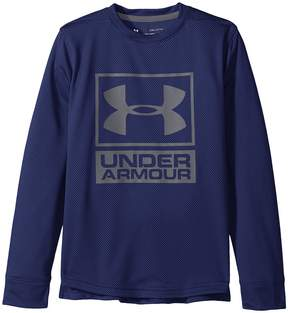 Under Armour Kids Textured Tech Crew Boy's Clothing