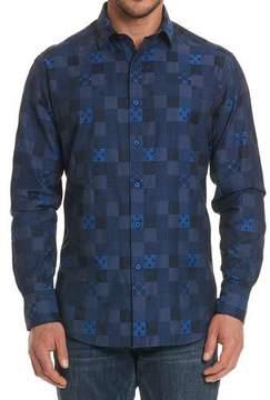 Robert Graham Concord Tonal-Check Sport Shirt