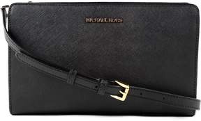Michael Kors Jet Set Travel Convertible Clutch - BLACK - STYLE