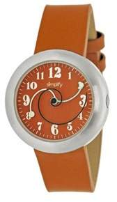 Simplify Men's The 2700 Quartz Watch.