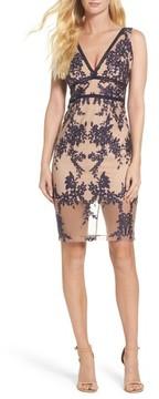 Bardot Women's Flora Embroidered Sheath Dress